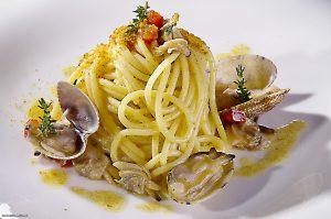 food experience-mediterannean spaghetti