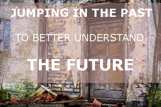 jumping in the past, understand the future, team meeting, meeting in italy