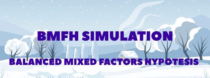 Balanced Mixed Factors Simulation